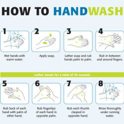 How To Handwash & Handrub Posters