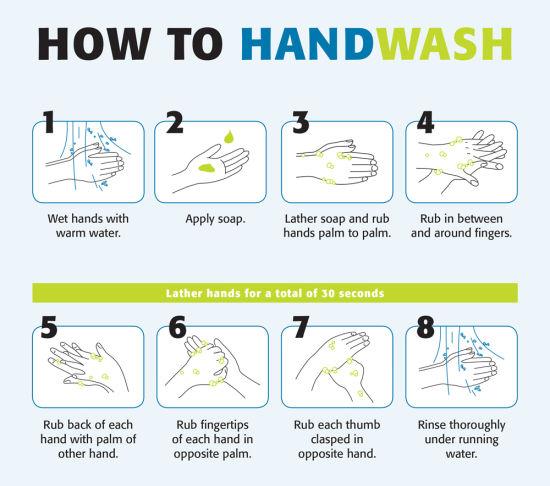 How To Handwash & Handrub Posters