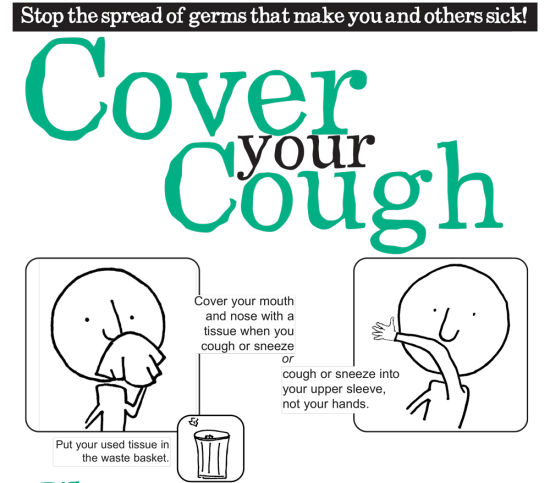 Cover Your Cough Poster