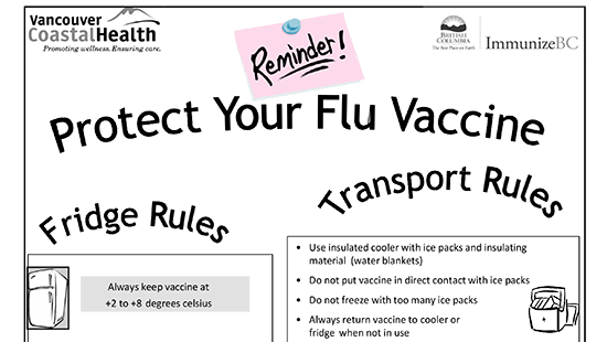 Protect Your Flu Vaccine